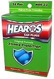 HEAROS Xtreme Protection Series Ear Plugs, Blue, 28 Pair