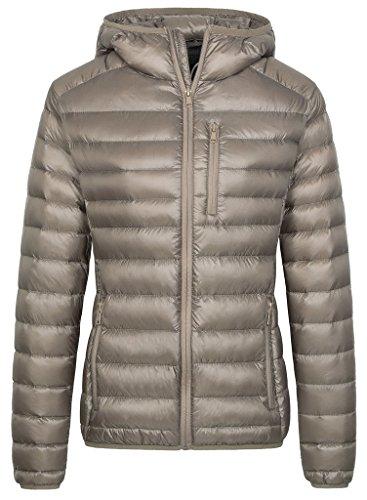 Wantdo Women's Hooded Packable Ultra Light Weight Down Jacket