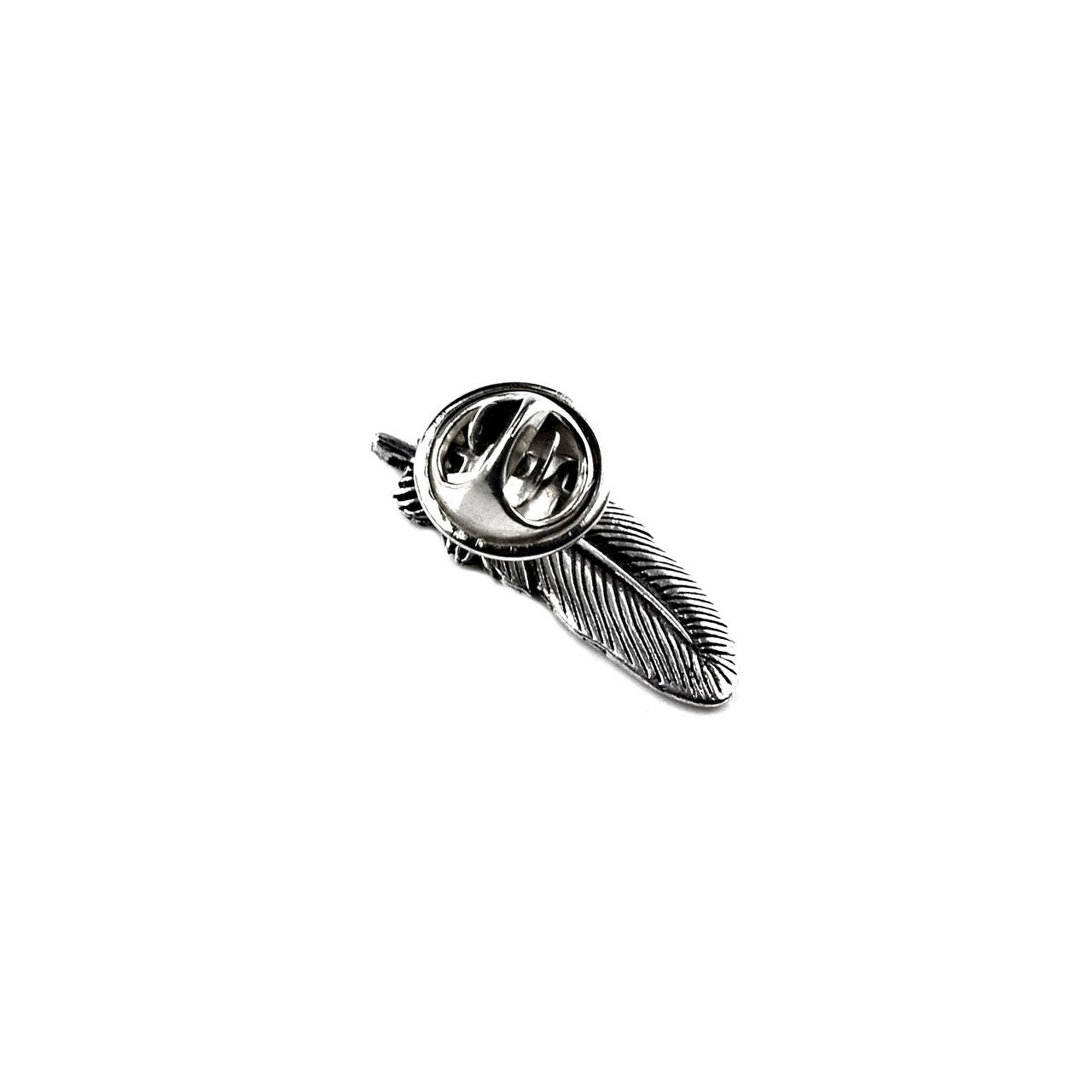 Quality Handcrafts Guaranteed Feather Lapel Pin LPSM18