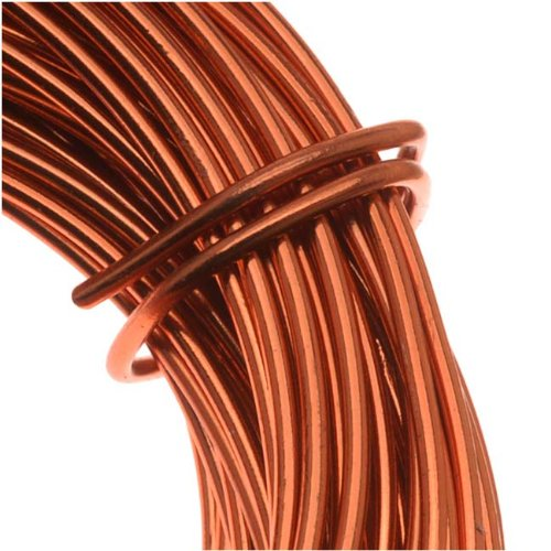 copper german bead craft wire 20 gauge 8 dia 6 meters