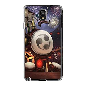 Shock-Absorbing Hard Phone Cover For Samsung Galaxy Note 3 (uxW10578wSkz) Customized HD League Of Legends Rumble Skin