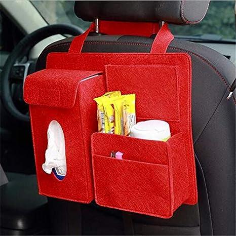 XuBa Car Styling Storage Bag Car Organizer Tissue Box Pouch Back Seat Storage Bag Black Car Storage Bag
