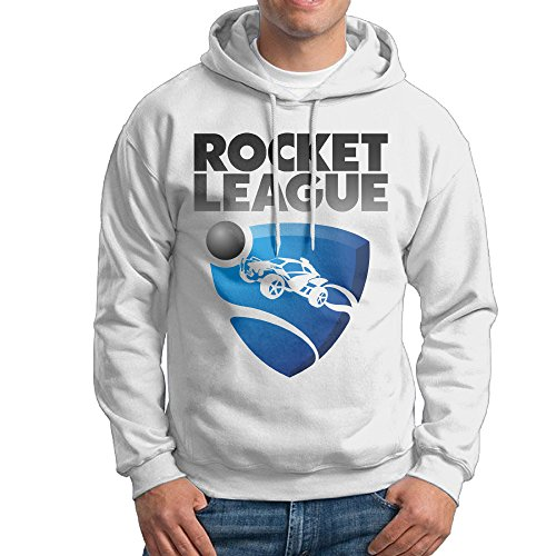 Crayola Logo For Costume (UFBDJF20 Rocket Game League 2 Men's Pullover HoodWhite S)