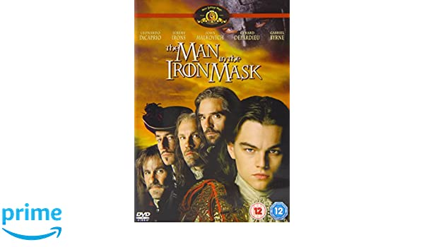 The Man in the Iron Mask [Reino Unido] [DVD]: Amazon.es: Leonardo DiCaprio, Jeremy Irons, John Malkovich, Gérard Depardieu, Gabriel Byrne, Anne Parillaud, ...