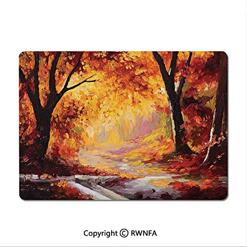 Custom Mouse pad,A Bench Overlooking The Lake