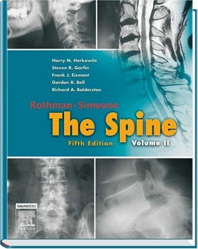 Rothman-Simeone The Spine: 2-Volume Set (Herkowitz, Rothman-Simeone The Spine)