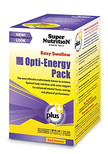 SuperNutrition Easy Swallow Opti-Energy Pack 30 (90 Daily Dose Packets)
