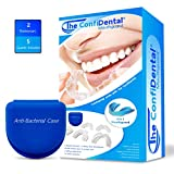 The ConfiDental - Moldable Mouth Guard for Teeth Grinding Clenching Bruxism , Sport
