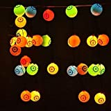 Halloween Solar String Lights, 10 LED Solar Power Eyes Fairy String Light/Starry Light for Outdoor,Home,Patio,Garden,Thanksgiving,Christmas (Multi Color) by AntEuro