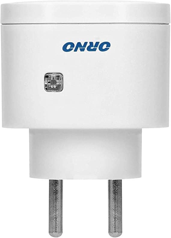 GS Funksteckdosenschalter Set mit Fernbedienung Reichweite im Freifeld: 30 m ORNO GB-438 Schuko