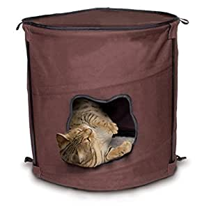 Ware Manufacturing Canvas 1 Level Kitty Pop Up Condo Hideout