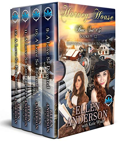 Harvey House Box Set # 3 Books 9 -12: Historical Western Romance (Harvey House Series Book ()
