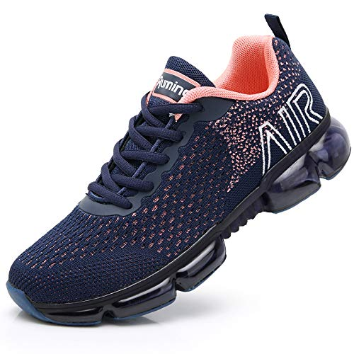 Reabo Womens Air Tennis Running Shoes Lightweight Jogging Training Walking Fitness Sport Athletic Sneaker US5.5-10