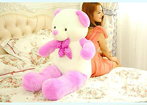 VERCART 23 inch Lavender Purple Giant Cuddly Stuffed Animals Plush Teddy Bear Toy Doll by VERCART