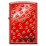 Strawberry Stucco Custom Zippo Windproof Collectible Lighter. Made in USA Limited Edition