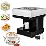 Happybuy Coffee Printer DIY Art Design Food Printer Coffee Latte Art Printer Coffee Maker Selfie Milk Tea Printer (Coffee Printer)
