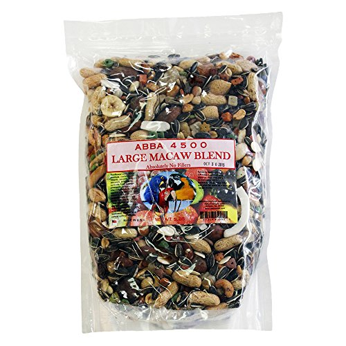 ABBA 4500 Large Macaw Blend Bird Food 5lbs