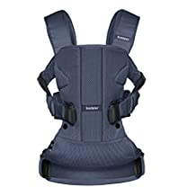 BabyBjorn Baby Carrier One Air - Navy, Mesh