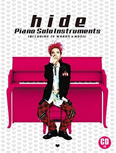 CD付 hide/ピアノ・ソロ・インストゥルメンツ 発売日