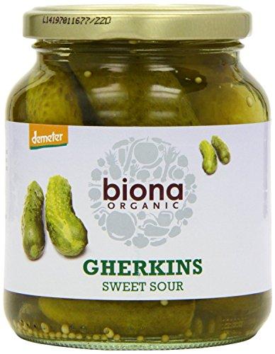Biona Organic - Jarred Pickles - Gherkins - 350g (Jarred Pickles)