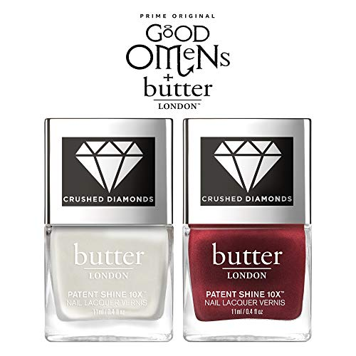 Nail Duo - butter LONDON Nail Lacquer, Unlikely Duo, 0.8 Oz