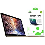 LENTION Clear Screen Protector for 12-inch MacBook Anti-scratch Hydrophobic Oleophobic Crystal HD Protective Film