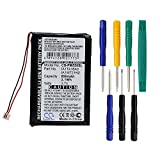 Cameron Sino 850mAh Battery for Palm M550, Tungsten T1, Tungsten T2, Tungsten T3, Zire 31, Zire 71, Zire 72, Zire 72s with 7/pcs Toolskits