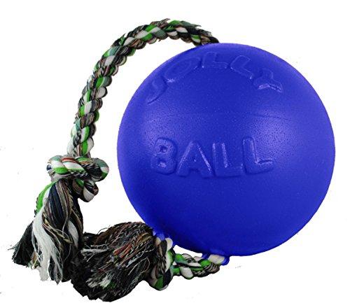 Jolly Pets 6-Inch Romp-n-Roll, Blue ()