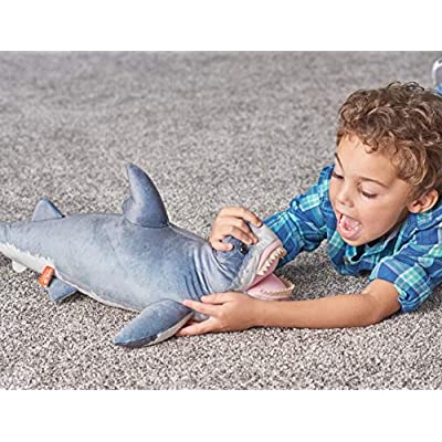 Wild Republic Great White Shark Plush, Stuffed Animal, Plush Toy, Gifts for Kids, Living Ocean 24 Inches: Toys & Games