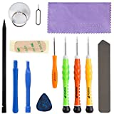 Fosmon 13 Piece Complete Opening + Repair Tools Screw Driver Kit For Apple iPhone 6S 6S Plus 6 6 Plus SE 5S 5C 5 4S 4G 3G 3GS, iPod, iPod Nano, Sony PSP