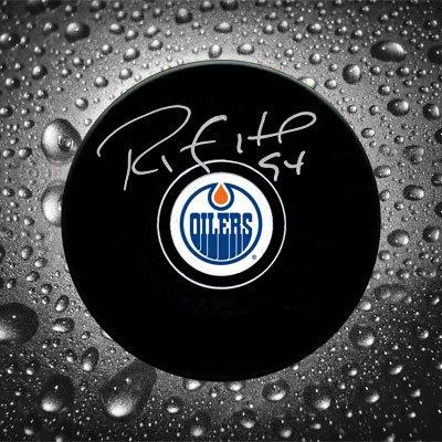 Ryan Smyth Edmonton Oilers Autographed (Ryan Smyth Edmonton Oilers)