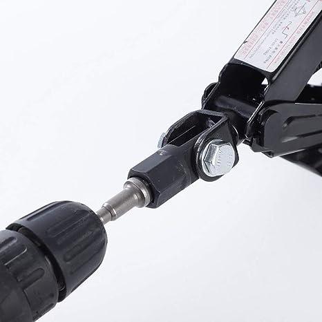 1 2 Scherenwagenheber Dapter Für 1 2 Zoll Schlagschrauber Oder 13 16 Zoll Schlagschrauber Oder Bohrmaschinen Scissor Jack Drill Adapter Küche Haushalt