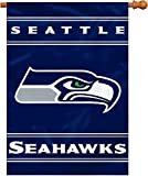 Fremont Die NFL Seattle Seahawks 2-Sided 28-by-40-Inch House Banner