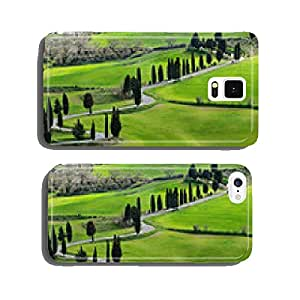 Famous road near Monticchiello, Tuscany, Italy cell phone cover case Samsung S5