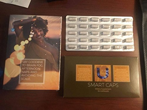 Revital U Green Coffee Bean Smart Caps Lasting Energy Weight Loss Mental Clarity Focus (30