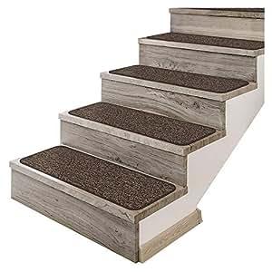 Set de 12tape-down alfombra–alfombrilla para peldaños–Pebble gris–varios otros tamaños a elegir
