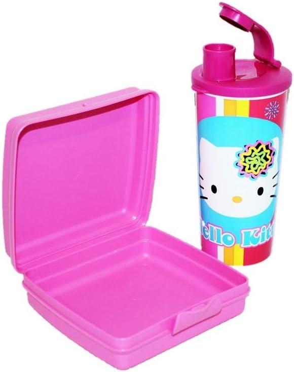 Tupperware Hello Kitty Sandwich Keeper Retro Design Pink New
