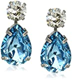 Sorrelli Swarovski Teardrop Accent Earrings