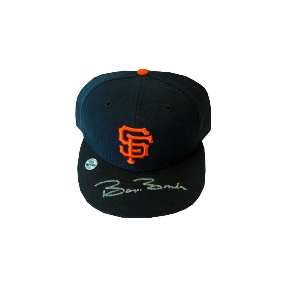 Barry Bonds Autographed San Francisco Giants Hat (Bonds Holo)