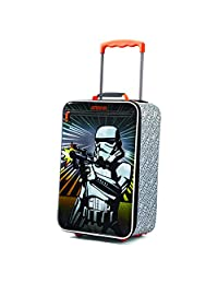 American Tourister Disney Boys Softside Upright 18-Inch, Storm Trooper, International Carry-On