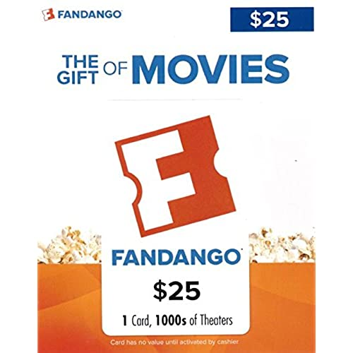 Fandango Gift Card 25