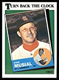 1988 Topps # 665 Turn Back The Clock Stan Musial St. Louis Cardinals (Baseball Card) Dean's Cards 8 - NM/MT Cardinals