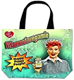 I Love Lucy Large Tote Bag Vitameatavegamin