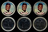 1964 Topps Metal Coins (Baseball) Card# 80 Willie Mays of the San Francisco Giants VG Condition