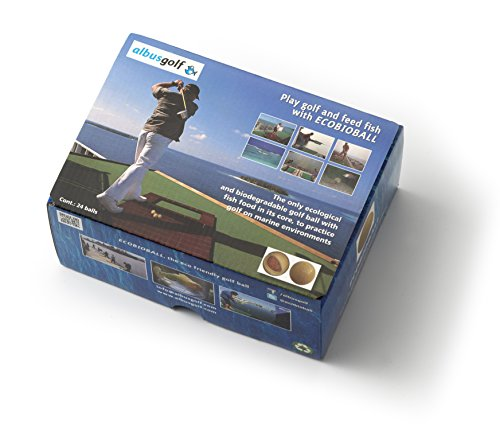 - 24 Ecobioball, Eco-friendly Golf Ball for Marine Environments