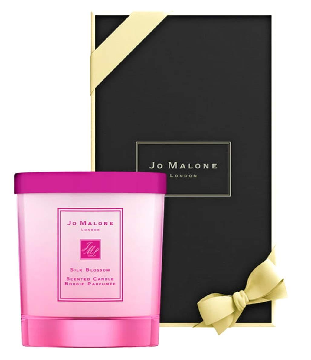 Jo Malone Silk Blossom Candle 7 oz / 200g. Wrapped in signature black box.