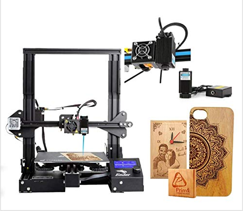WOL 3D Original Creality Ender 3 DIY Printer (Ender 3 pro with Laser Kit)