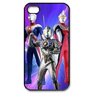 FroomCase TV Anime Series Ultraman Coolest White Hard Plastic Cover Case For Iphone 4 4s/Shopping Macket, Ultraman Iphone 4 Case Ballistic