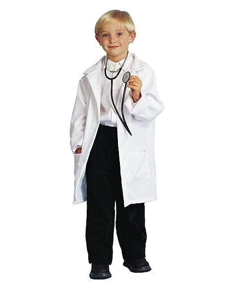 Horror-Shop bata blanca niños profesor M