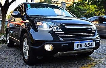 GOWE Faros Delanteros Honda CRV 2007-2011 para CRV LED Head Lamp Angel Eye LED